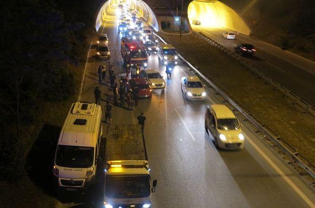 Ümraniye'de trafik kazası: 4 yaralı