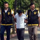 Adana'da PKK gösterisinde gasp yapan eylemci yakalandı