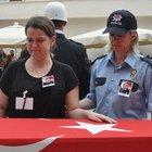 Bursa'da şehit polis memuru Servet Ildız için tören düzenlendi