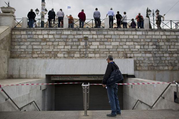 Yunanistan'da iki günlük grev başladı