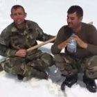 Şehit Jandarma Uzman Çavuş İrfan Mert'in son görüntüsü