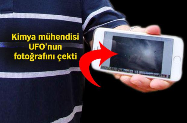 Pilotların Silivri'de 'gördük' dedikleri UFO'yu, Fethiye'de fotoğrafladığını iddia etti