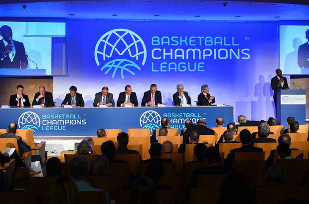 FIBA Basketbol Şampiyonlar Ligi'nde 7 Türk takımı katılacak