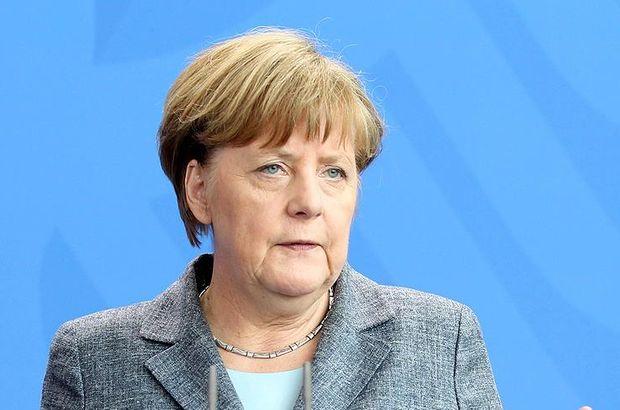 Angele Merkel: Türkiye insani yardımları yerine getirdi