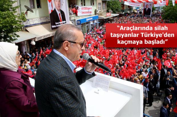 Cumhurbaşkanı Erdoğan'dan Artvin'den dokunulmazlık mesajı: Milletin dediği oldu