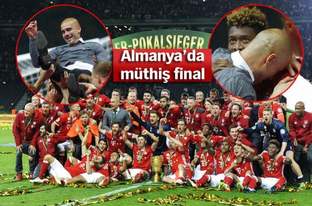 Almanya DFB Kupası Bayern Münih'in