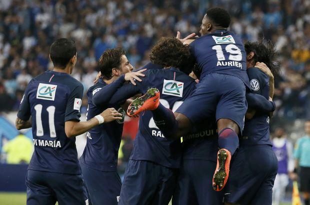 Marsilya: 2 - Paris Saint Germain: 4 | Fransa Kupası PSG'nin