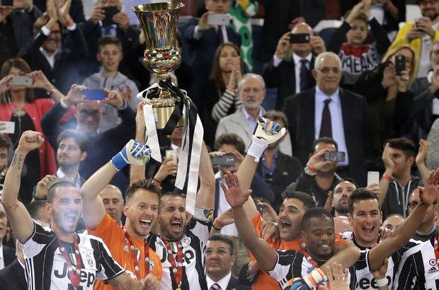 Milan: 0 - Juventus: 1   İtalya Kupası Juventus'un