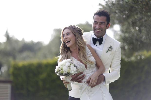 'Kenan İmirzalıoğlu-Sinem Kobal çifti örnek bir düğün yaptı'