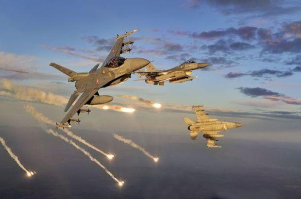 Kuzey Irak'a hava operasyonu düzenlendi