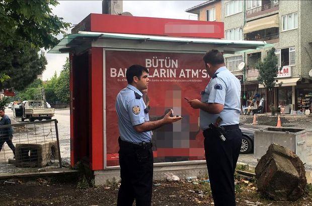 İzmit'te banka görevlileri ATM'ye para yükledikten sonra kapısını açık unuttu