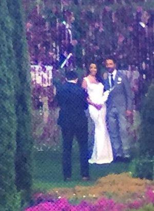 Eva Longoria ve Jose Antonio Baston çifti evlendi