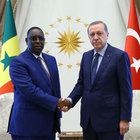 Cumhurbaşkanı Erdoğan ile Senegal Cumhurbaşkanı Sall görüştü