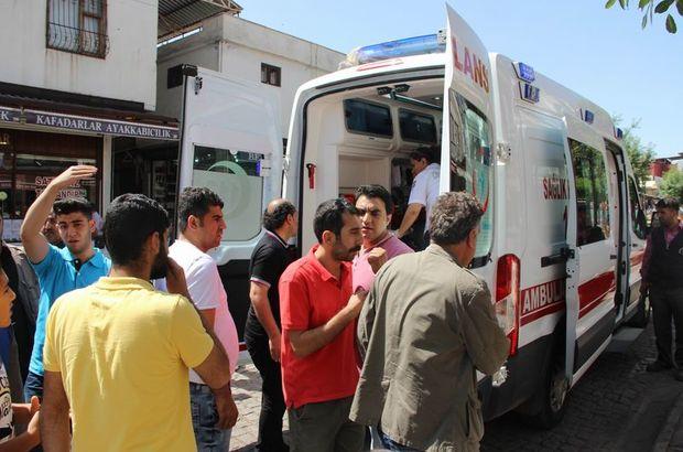 Diyarbakır Sur'da evini görmek isteyen vatandaş çatıdan düşerek yaralandı