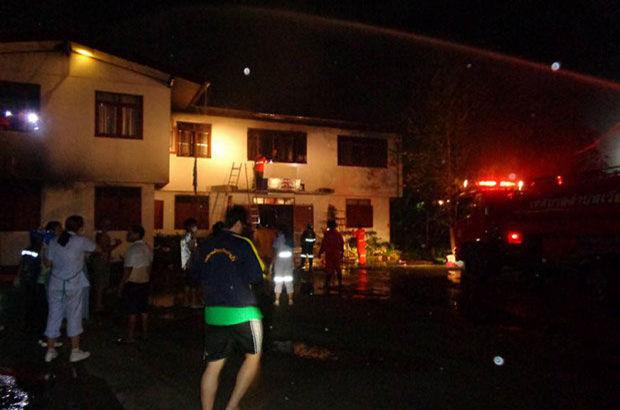 Tayland'da yangın! En az 18 çocuk yanarak can verdi