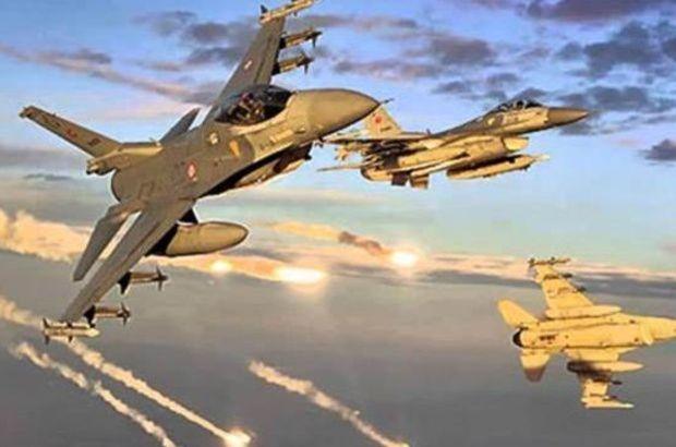 Kuzey Irak Metina bölgesindeki PKK'ya ait 5 hedefe hava harekatı