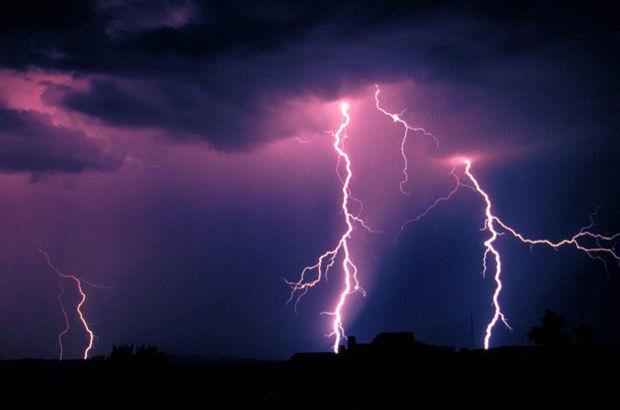 Meteoroloji'den yıldırım uyarısı!