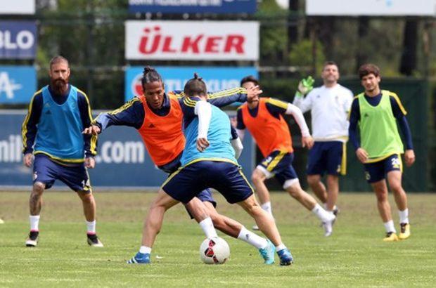 Fenerbahçe'de kupa hazırlıkları sürüyor