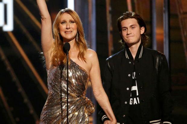 Celine Dion ödül töreninde gözyaşlarına boğuldu