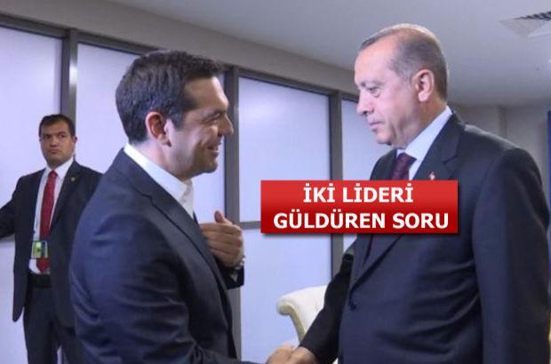Cumhurbaşkanı Erdoğan, Alexis Çipras ile görüştü