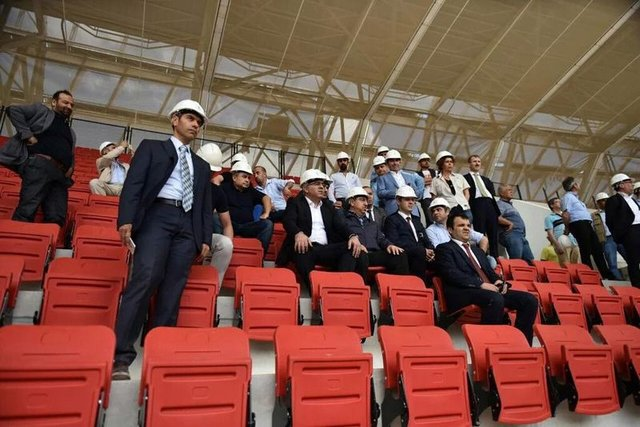 Gaziantep Arena bitiyor