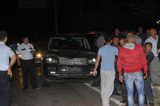 Antalya'da yolun karşısına geçerken cip çarptı