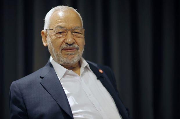Nahda Hareketi Partisi'nde Gannuşi yine başkan oldu