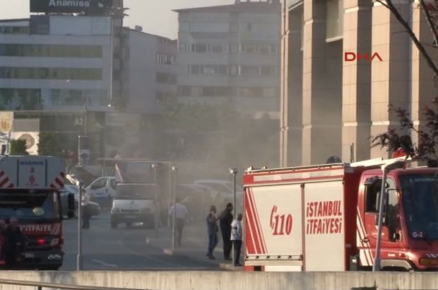 Çağlayan Adliyesi'nde yangın paniği!