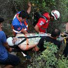 Genç turizmci kanyonda ölümle burun buruna geldi!