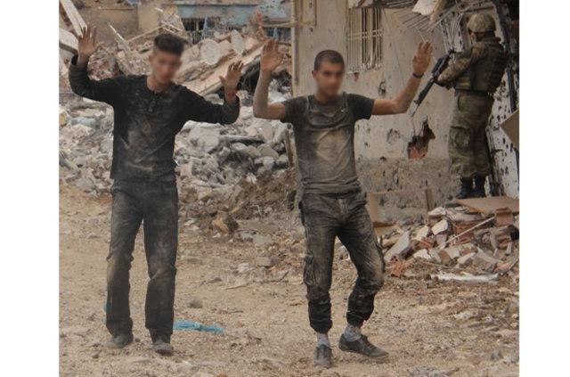 Nusaybin'de 50 PKK'lı teslim oldu