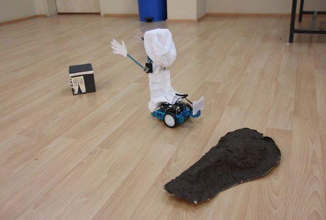 Bingöllü öğrenciler 'Hacı Robot' tasarladı