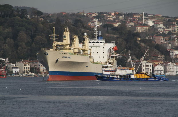 Boğaz'dan 44 bin gemi geçti, risk büyük