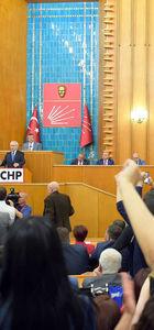 Cumhurbaşkanı Erdoğan'dan CHP grubundaki sloganlara suç duyurusu