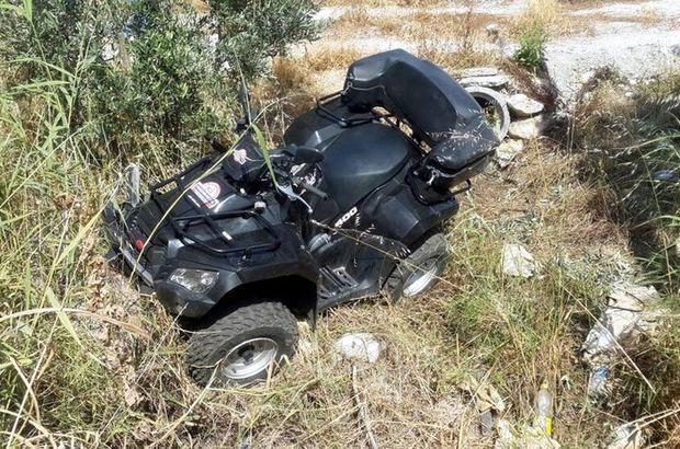 Antalya Kaş'ta ATV ile kaza yapan İngiliz kadın öldü