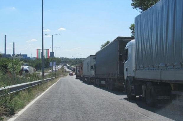 Bulgaristan sınır kapılarında TIR kuyruğu