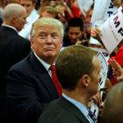 Donald Trump'ın mitingi olaylı geçti