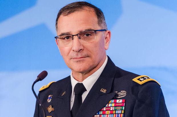 Orgeneral Hulusi Akar, NATO Müttefik Harekat Komutanı Orgeneral Scaparrotti ile görüştü