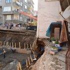 Çökme tehlikesi bulunan 5 katlı bina boşaltıldı!