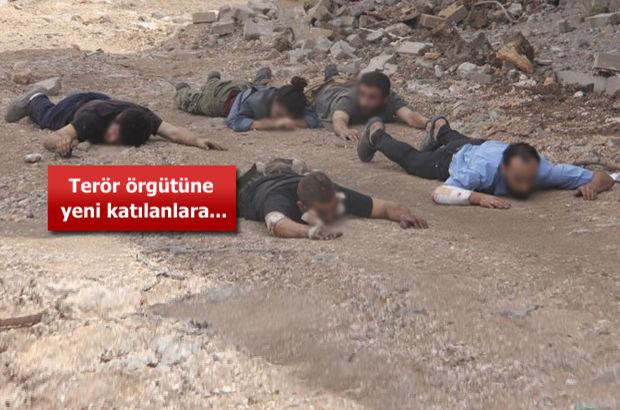 Nusaybin'de teslim olan 25 PKK'lı bakın neler anlattı!