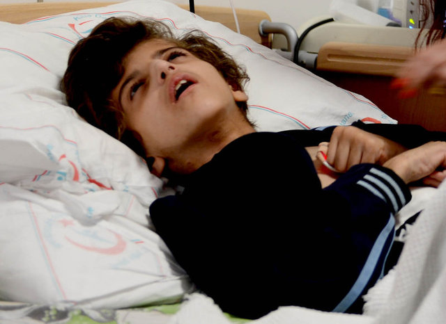 10 yaşındaki Beddur Hassani Türkiye'de hayata tutundu!
