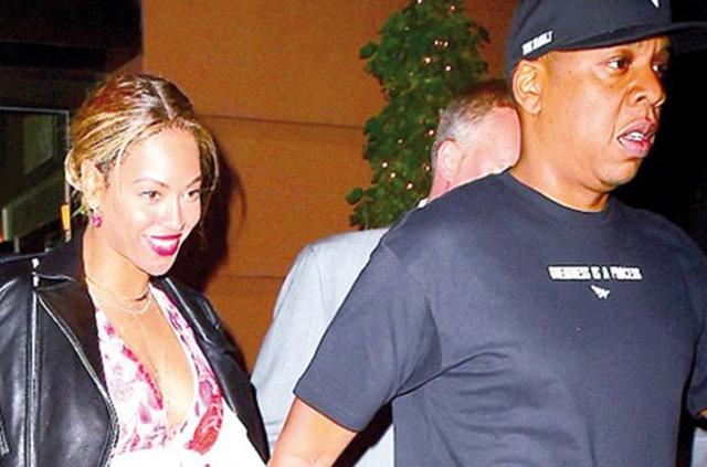 Beyonce ile Jay Z'nin romantik akşam yemeği
