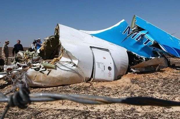 Düşen Mısır uçağına ait ELT cihazının yeri tespit edildi