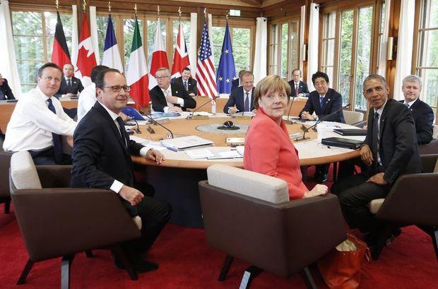 G7 Zirvesi İtalya'nın Sicilya adasında düzenlenecek