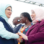 First Lady'ler açılışa katıldı