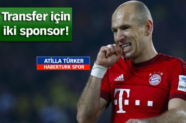 Beşiktaş'ta Arjen Robben sesleri! Sponsor bulundu...