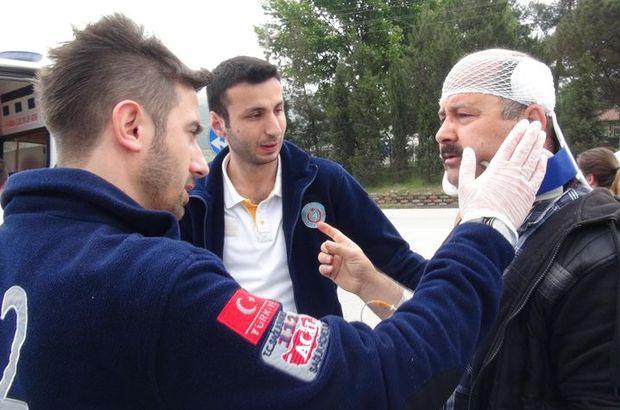 Karabük'te kaza: 4 kişi yaralandı