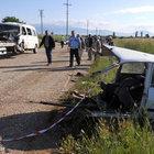 Denizli'de trafik kazası: 12 yaralı