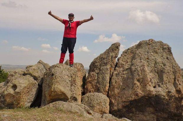 Edirne'de amatör dağcı fotoğraf çekmek isterken canından oldu