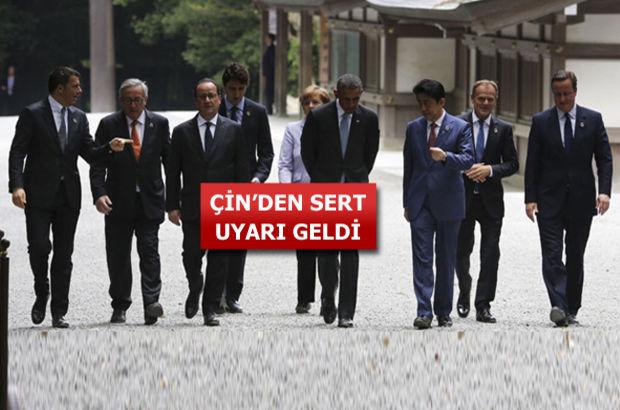 G7 liderleri Japonya'da buluştu