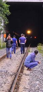Zonguldak'ta Eray Memiş'e yolcu treni çarptı